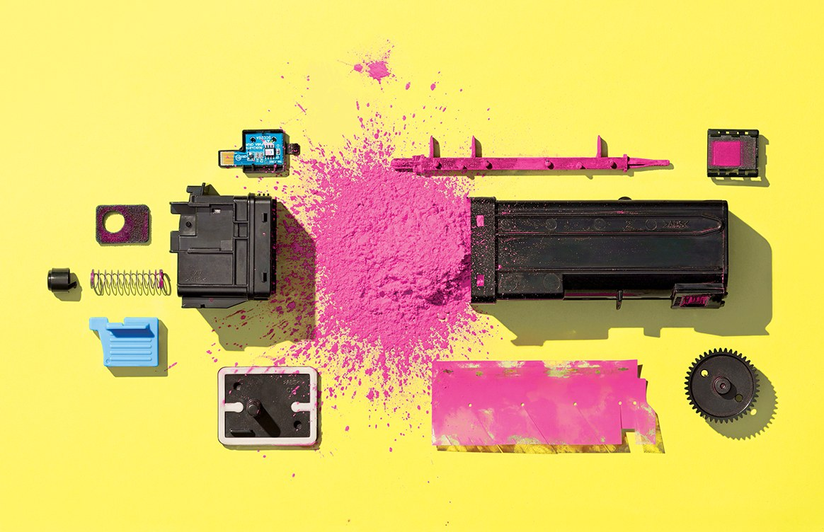 Your toner cartridge is out of toner